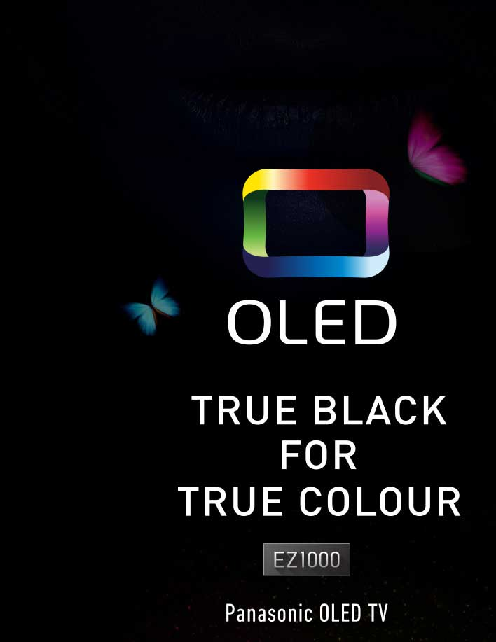 OLED - True Black for True Colour EZ1000 Panasonic OLED TV