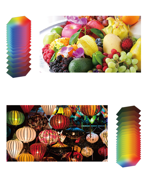 OLED - Data dynamically shifts itself to provide the full coverage to accurately segment within the APL range, which delivers much more accurate colour reproduction. - Panasonic TV