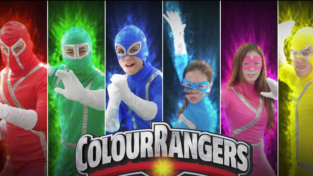 Meet the Panasonic Colour Rangers with Hexa Chroma Drive and 6-colour reproduction